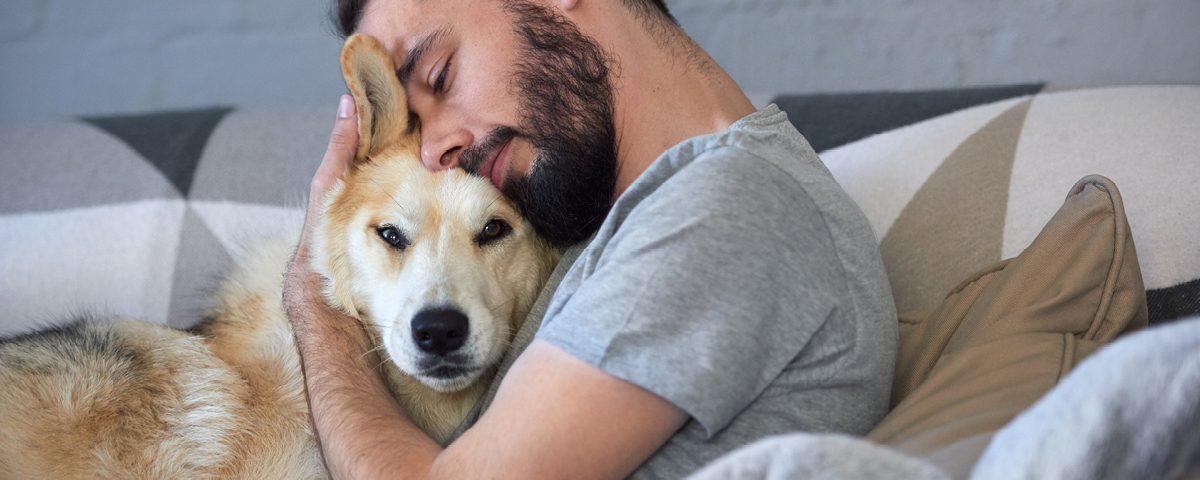 Bei Depressionen einen Hund?